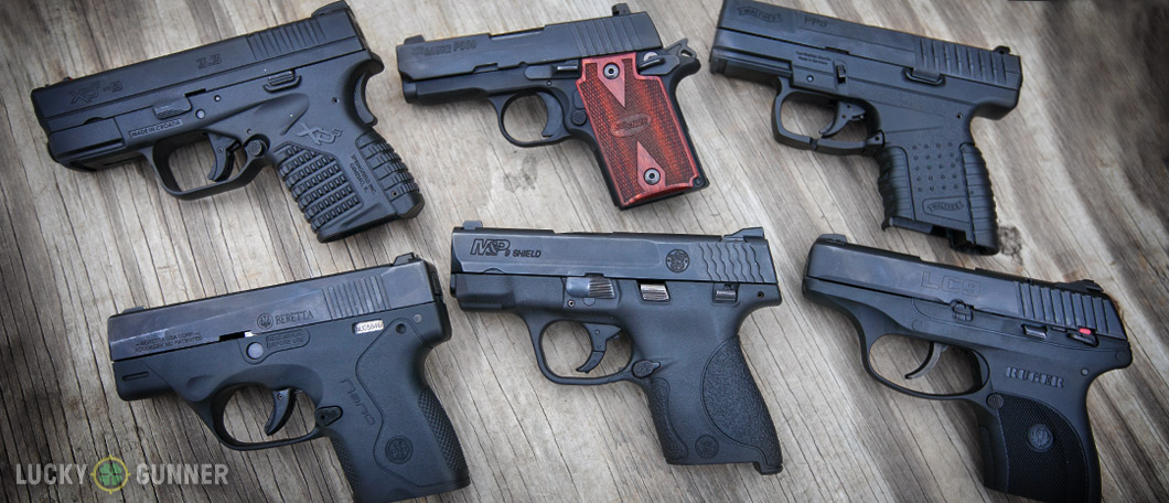 9mm Concealed Carry Pistols Comparison