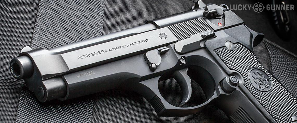 Evolution of the Beretta 92 - Lucky Gunner Lounge