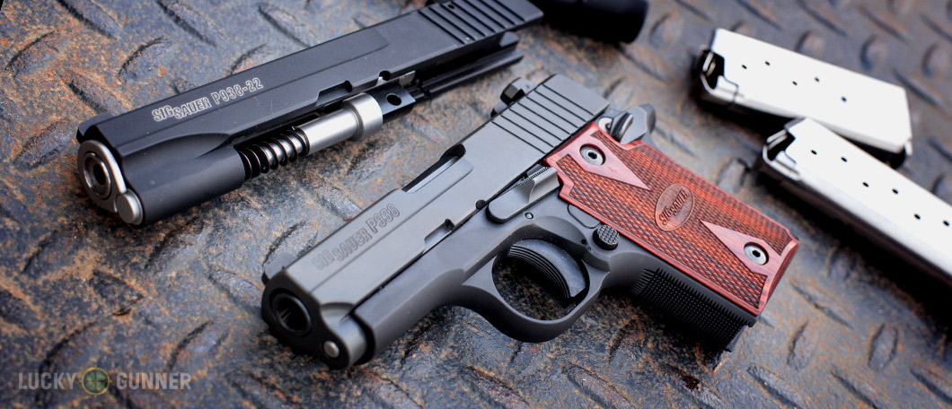Review: Sig Sauer P938 with  22 LR Conversion Kit